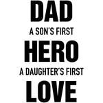 dad son hero daughter love