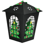 christmas tree lantern ornament