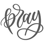 pray handlettered
