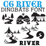 cg river dingbats