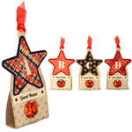 stars abcd candy place cards