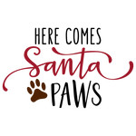 here come santa paws phrase