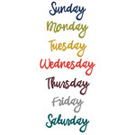 what's happening - days of the week - script