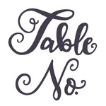 table number phrase