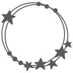 star monogram frame