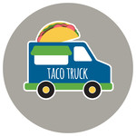 taco food truck icon