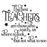 the best teachers quote