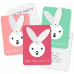 printable hinged bunny invite