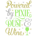 powered by pixie dust & wine