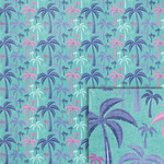 palm trees background paper