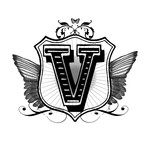 winged v monogram