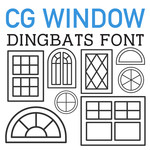 cg window dingbats