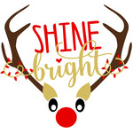 shine bright antlers