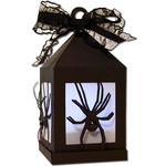 spider hanging tea light lantern