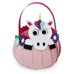 cute unicorn basket