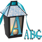 3d lantern banner with a-b-c