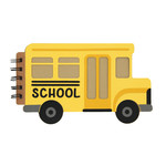school bus mini album