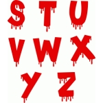 blood alphabet s-z