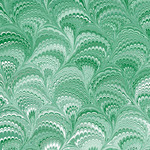 green marbled pattern