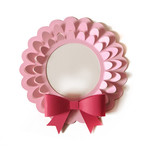 3d pop out wreath w bow