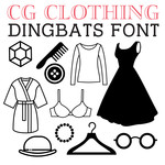 cg clothing dingbats