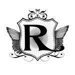 winged r monogram