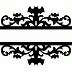 split bat damask