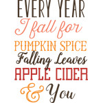 every year I fall quote