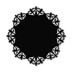 wrought iron wreath