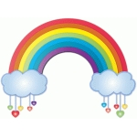 nested rainbow w/hearts
