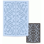 ornate fern gatefold card