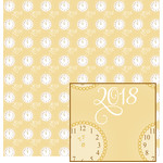new year clock pattern