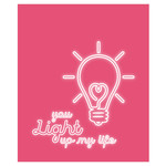 light up my life valentine card