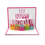 pop up birthday cake card
