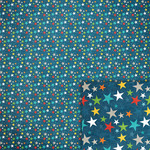 blue stars background paper
