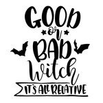 halloween good or bad witch phrase