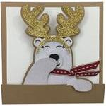 bear rendeer card