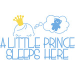 a little prince sleeps here