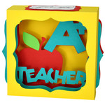 a plus teacher gift card box