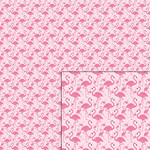 flamingo pink pattern