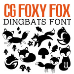 cg foxy fox dingbats