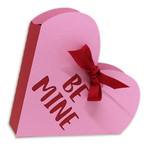 be mine open top heart box