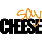 'say cheese' phrase