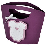baby clothes gift tote