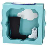 father's day boots gift card box