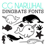 cg narwhal dingbats