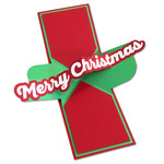 twist pop-up merry christmas card