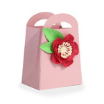 pretty flower favor bag