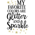 favorite color glitter sparkle