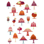 jellies and ice cream stickers